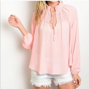 Pink high low blouse🎉🎉 🤑3 for $20